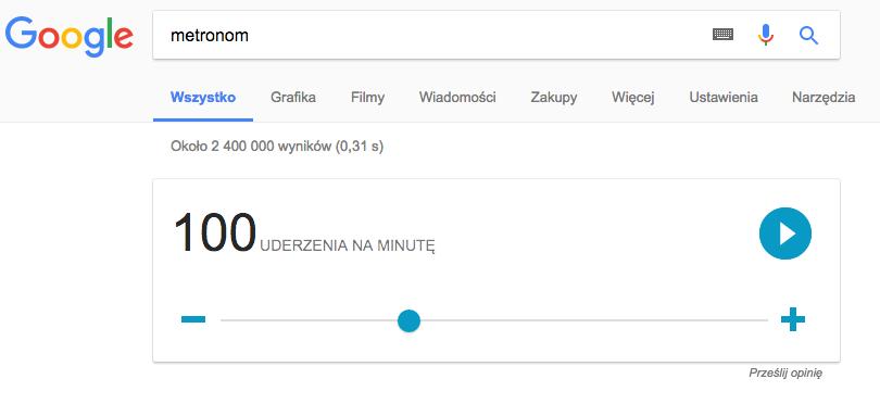 metronom Google