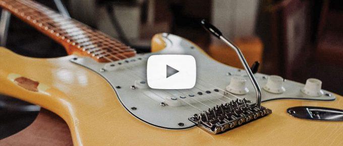 Jak w 5 minut wymienić struny w gitarze elektrycznej typu stratocaster