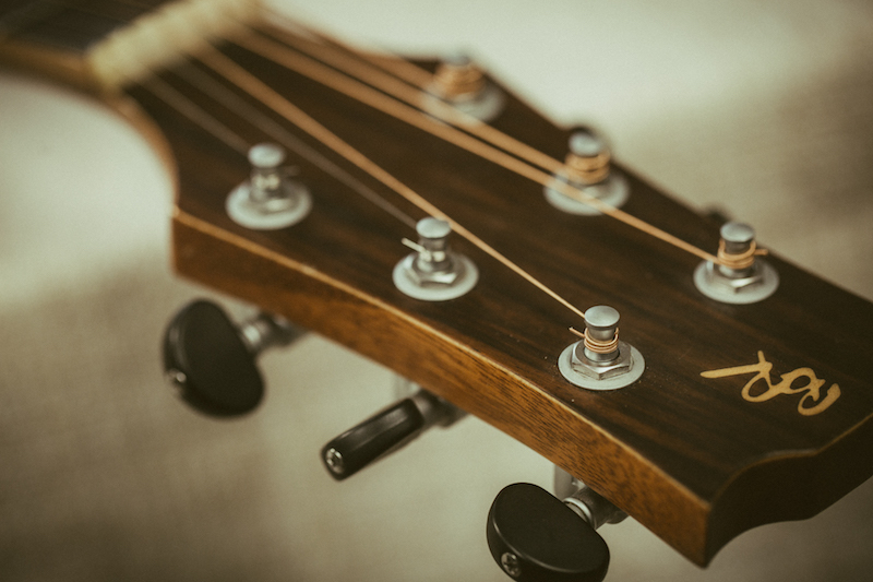 Struny D'addario w gitarze Baton Rouge